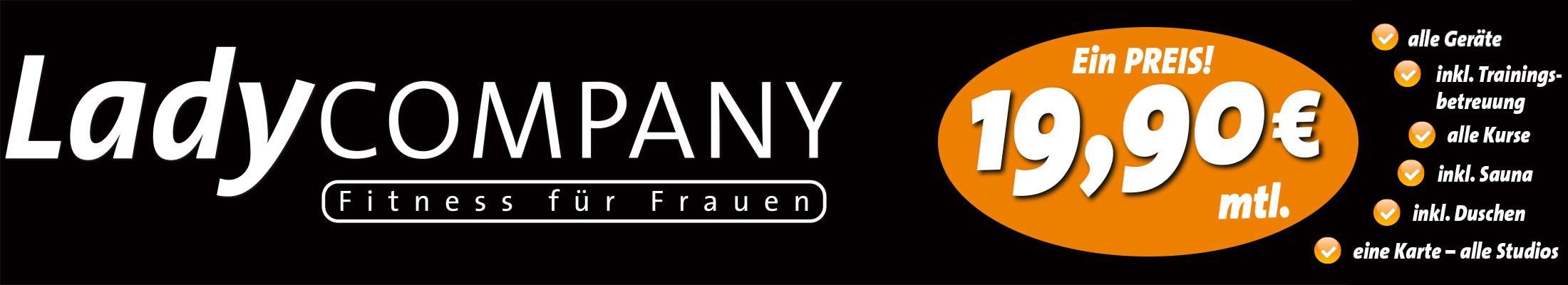 Ladycompany – Fitness für Frauen Logo